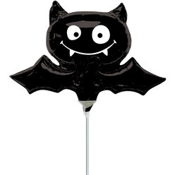 Black Bat Mini Balloon
