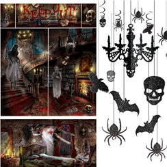 Haunted House Decorating Kit