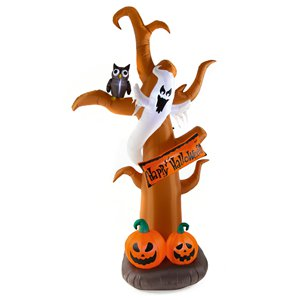 Giant Halloween Inflatable Tree - 2.7m