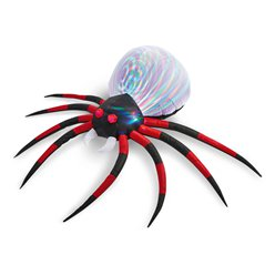 Giant Inflatable Spider with Lights - 2.4m