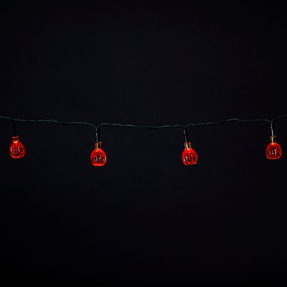 Mini LED Pumpkin Lights (1.2m)