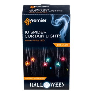 Spider Curtain Lights - 0.8mx28cm
