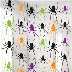 Halloween Spider String Decoration - 2m