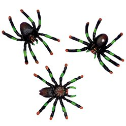 Assorted Spiders - 5cm