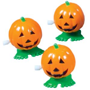 Wind Up Walking Pumpkin - 8cm