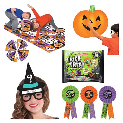 Stay Home Halloween Games Kit