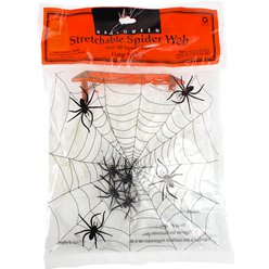 Spiders Web with Spiders - 100sq ft
