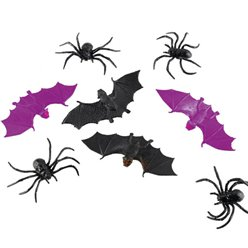 Spiders or Bats