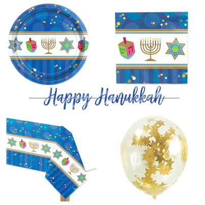 Hanukkah Party Pack - Value Pack For 18