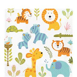 Happi Jungle Paper Napkins - 33cm
