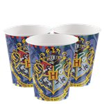 Harry Potter Paper Cups - 270ml