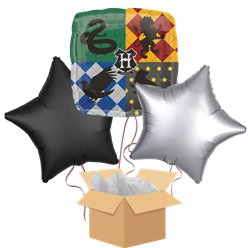 Harry Potter Balloon Bouquet - Delivered Inflated