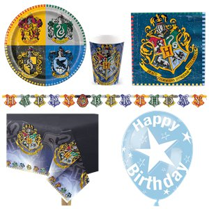 Harry Potter Party Pack - Deluxe Pack for 8