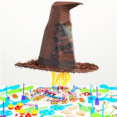 Harry Potter Sorting Hat Pull Piñata Kit