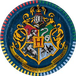 Harry Potter Paper Plates - 17cm