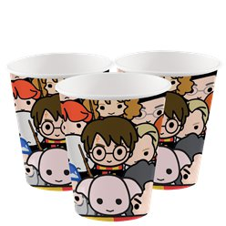 Harry Potter Paper Cups - 250ml