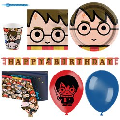 Harry Potter Comic Deluxe Party Pack