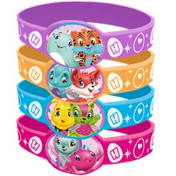 Hatchimals Rubber Bracelets