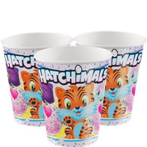 Hatchimals Paper Cups - 255ml