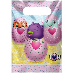 Hatchimals Plastic Party Bags