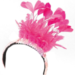 Feather Sequin Headpiece
