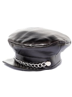Punk Rock Biker Cap