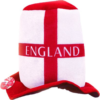 England Top Hat - England Party Supplies & Accessories front