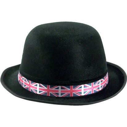 Union Jack Bowler - Royal Wedding Street Party front