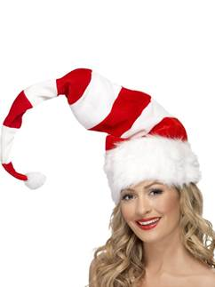 Tall & Stripy Santa Hat