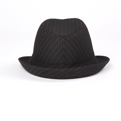 Trilby Gangster Hat - Fedora Hats - Women's Gangster Fancy Dress Costume Accessories back