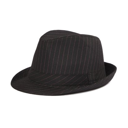 Trilby Gangster Hat - Fedora Hats - Women's Gangster Fancy Dress Costume Accessories front