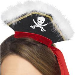 Mini Pirate Hat Headband