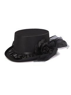 Embellished Top Hat - 12cm