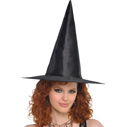 Classic Witches Hat - Women's Halloween Hat - 39.5cm  front