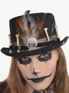 Witch Doctor Hat - 12cm tall