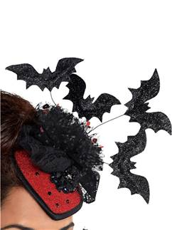 Clip on Vampire Couture Hat