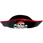 Plastic Pirate Hat