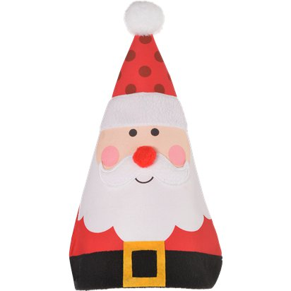 Whimsical Santa Hat - Kids Christmas Hat - One Size back