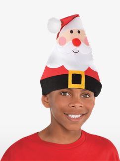 Child's Whimsical Santa Hat