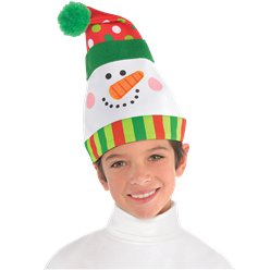 Whimsical Snowman Hat