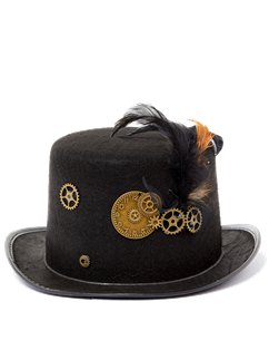 Steampunk Gear Hat