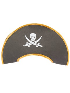 Child's Skull & Crossbone Pirate Hat