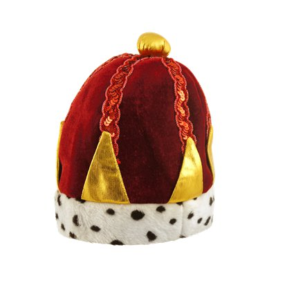 Child King's Crown - Kid's Fancy Dress Costume Hats & Accessories front