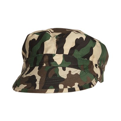 Army Hat - Adults Military Fancy Dress Costume Accessories front