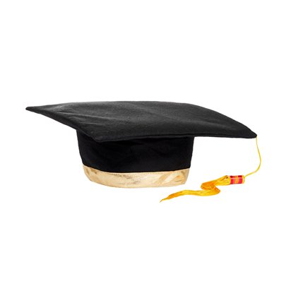 Graduation Mortar Hat - Adults Graduation Fancy Dress Costume Accessories front