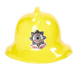 Childrens Yellow Fireman Hat