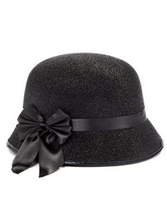 Black Charleston Lady Hat
