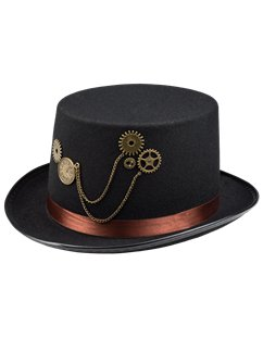 Steampunk Clock Hat