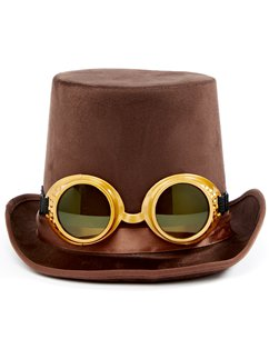 Steampunk Hats with Goggles