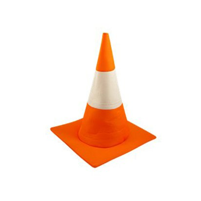 Traffic  Cone Hat - Adults Fancy Dress Costume Accessories - Stag Party front